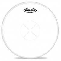 PARCHE EVANS COATED BLANCO RUGOSO 1 CAPA POWER CENTER CAJA B14G1D 14""