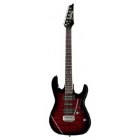 GUITARRA ELÉCTRICA IBANEZ GRX70QA TRB TRANSPARENT RED SUNBURST