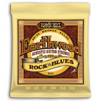 CUERDA ACÚSTICA ERNIE BALL 2008 10-52 EARTHWOOD BRONZE ROCK & BLUES JUEGO