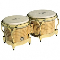 "BONGO LP-M201-AW MATADOR 7 1/4"" Y 8 5/8"" ROBLE SIAM COLOR NATURAL GOLD TONE ,PARCHE NATURAL LP811.002"