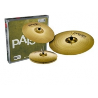 "PLATO PAISTE 101 BRASS PACK H-H- 14"", CRASH 16"", RIDE 20"" J000014USET"