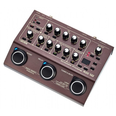 MULTIEFECTO BOSS AD-10 ACOUSTIC PREAMP & FX