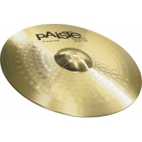 "PLATO PAISTE 101 BRASS CRASH RIDE 18"" 144618"