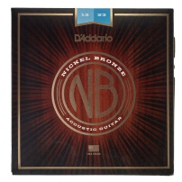 CUERDA ACÚSTICA D'ADDARIO NB1253 12-53 NICKEL BRONZE LIGHT JUEGO