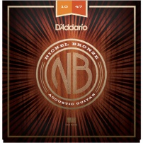 CUERDA ACÚSTICA D'ADDARIO NB1047 10-47 NICKEL BRONZE EXTRA LIGHT JUEGO
