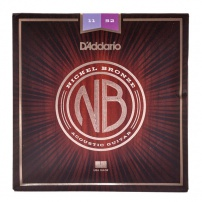 CUERDA ACÚSTICA D'ADDARIO NB1152 11-52 NICKEL BRONZE CUSTOM LIGHT JUEGO