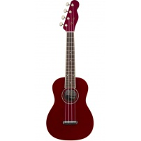 UKELELE CONCERT FENDER ZUMA ACABADO CANDY APPLE RED 0971630009
