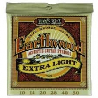 CUERDA ACÚSTICA ERNIE BALL 2006 10-50 EARTHWOOD BRONZE EXTRA LIGHT JUEGO