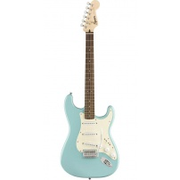 GUITARRA ELÉCTRICA FENDER SQUIER BULLET STRATOCASTER TROPICAL TURQUOISE 0370001597