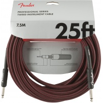 CABLE JACK M - JACK M 7,5 METROS FENDER PROFESIONAL COLOR TWEED ROJO 0990820070