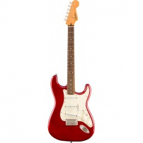 GUITARRA ELÉCTRICA FENDER SQUIER CLASSIC VIBE STRATOCASTER 60's CANDY APPLE RED 374010509
