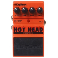 "PEDAL DIGITECH JI-DHH SERIE ANALÓGICA DISTORTION ""HOT HEAD""."