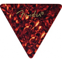 PÚAS FENDER CELLULOID 355 SHELL THIN TRIANGULARES ROJA UNIDAD 980355700