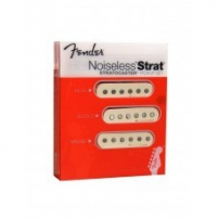 PASTILLAS GUITARRA FENDER HOT NOISELESS SET BLANCO 992105000