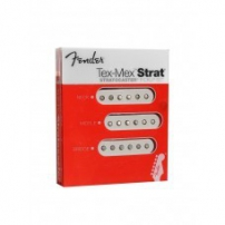 PASTILLAS GUITARRA FENDER TEX MEX STRAT SET BLANCO 992131000