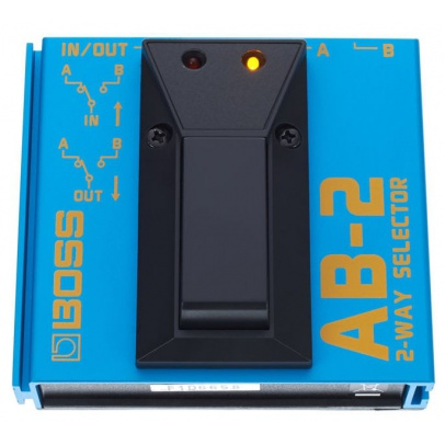 PEDAL INTERRUPTOR BOSS AB-2 FOOTSWITCH 2 SWITCH A/B